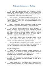 Orientações para os Cultos.doc