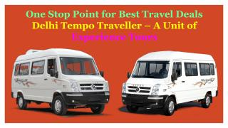 Book Tempo Traveller on Rent in Delhi.pdf
