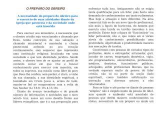 O PREPARO DO OBREIRO.doc