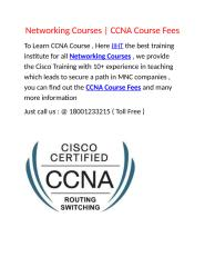 Networking-Courses.docx
