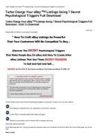 Turbo Charge Your eBaysup reg sup Listings Using 7 Secret Psychological Triggers Full Download-html.pdf