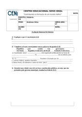 avaliação bimestral de historia 2 b.docx