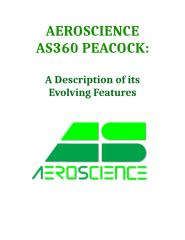 AeroScience AS360 Peacock, A Description of its Features v1.1.docx