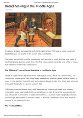 Bread-Making in the Middle Ages _ World History.pdf