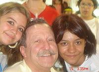 Naty C., Pedro Bandeira e Julia.JPG