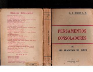 Pensamentos Consoladores - São Francisco de Sales - Padre P Huguet.pdf